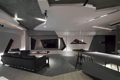 Stunning Modern Bachelor Apartment   InteriorZine
