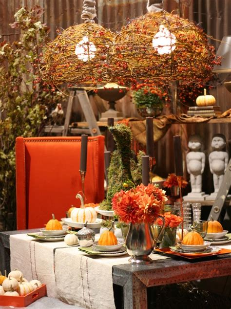 Fall Apartment Decorating Ideas 30 Beautiful And Cozy Fall Dining Room D 233 Cor Ideas Digsdigs