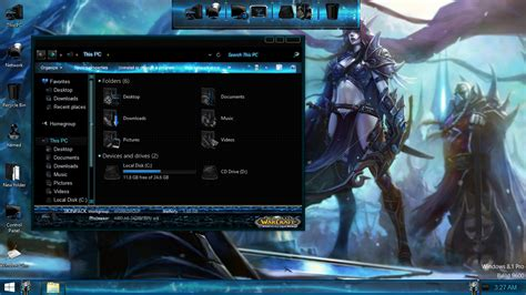 theme windows 7 world of warcraft world of warcraft skinpack skinpack customize your