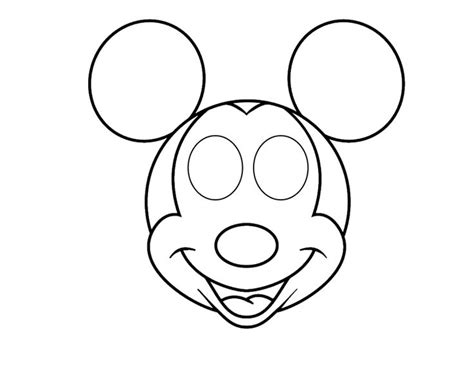mouse mask template printable mickey mouse mask printable free printing thinking