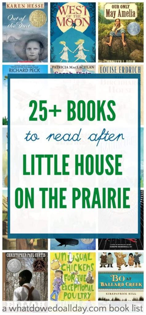the house books books for who like house on the prairie