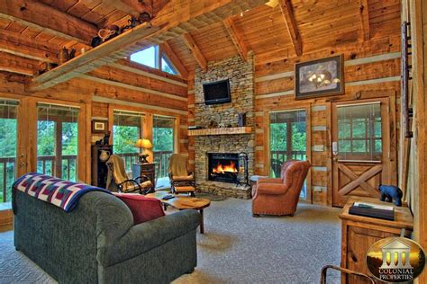 Black Cabin Rentals In Pigeon Forge Tn by Black Bluff Smoky Mountain Dreams Cabin Resort