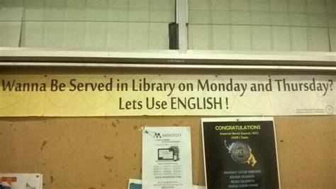 membuat english club library english club perpusteknikgeologiugm grenengane