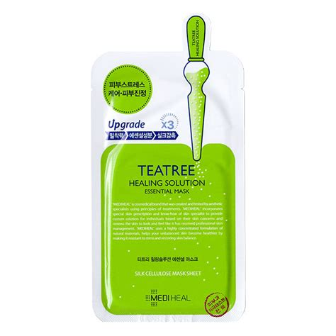 mediheal teatree care solution essential mask 25ml pack