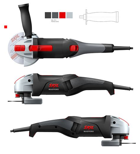 design concept of a powered hand tool skil powertools on behance