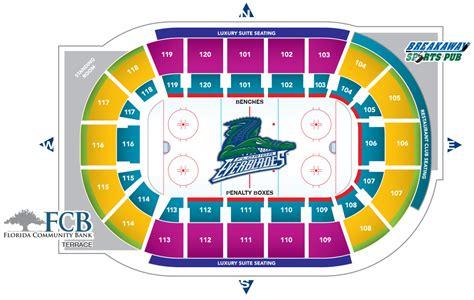 germain arena seating chart germain arena estero tickets