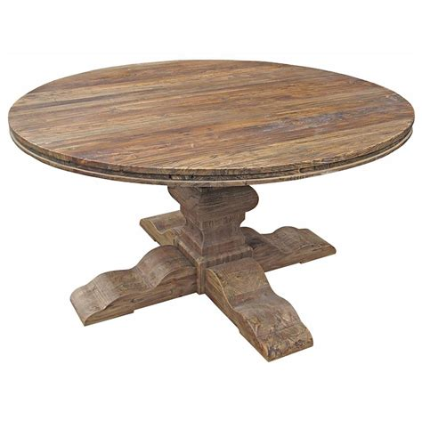 maris french country reclaimed elm  dining table