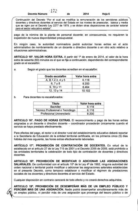 Decreto 172 2277 2014jpgw584 | decreto no 172 070214 dto 2277