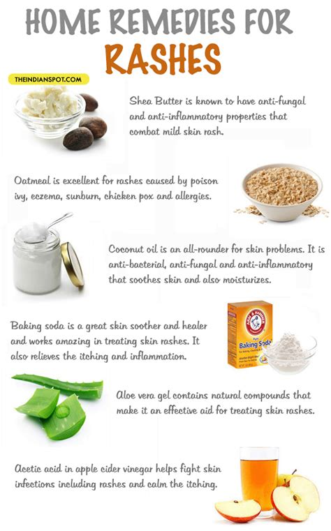 home remedies for rashes theindianspot