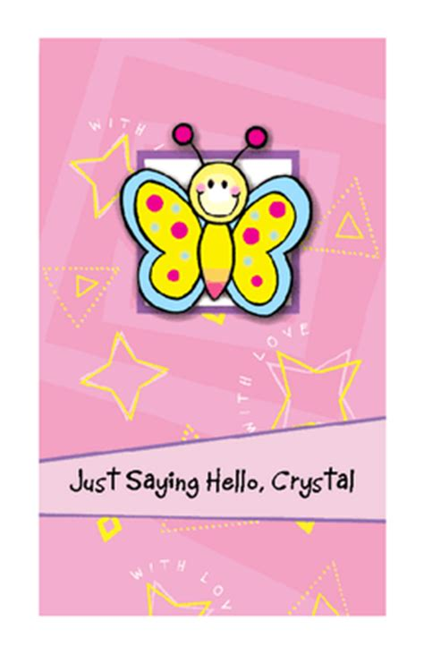 printable birthday cards american greetings just saying hello greeting card saying hi printable card