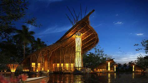 Modern Buildings bamboo resort amp spa malang indonesia