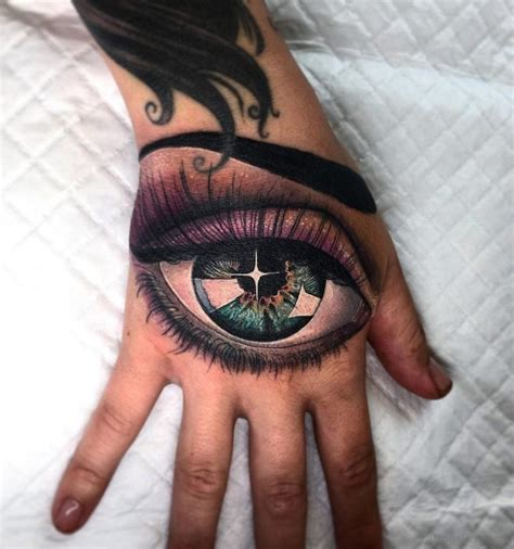 tattoo eye bags hand with eye tattoo www imgkid com the image kid has it