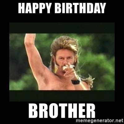 Joe Dirt Memes - happy birthday brother joe dirt trollolol meme generator