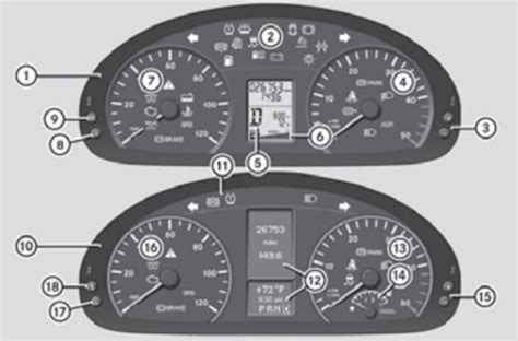 mercedes dashboard symbols mercedes sprinter 906 mk2 dash warning lights