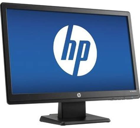 Monitor Hp V193b hp v193b 18 5 in led monitor