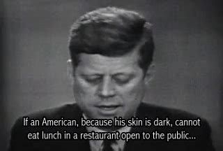 john f kennedy and civil rights movement civil rights president gif find share on giphy