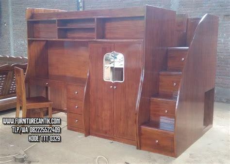 Meja Belajar Plus Lemari tempat tidur tingkat dan meja belajar lemari toko