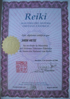 certificados escuela de reiki