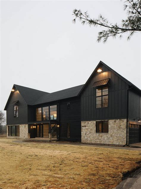 sherwin williams iron ore black house exterior paint color