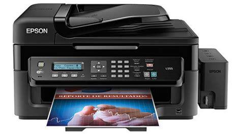 Epson L 555 multifuncional epson l555 33ppm negro 15 ppm color fax