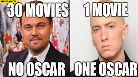 film eminem oscar leonardo dicaprio 30 movies no oscar eminem 1 movie 1