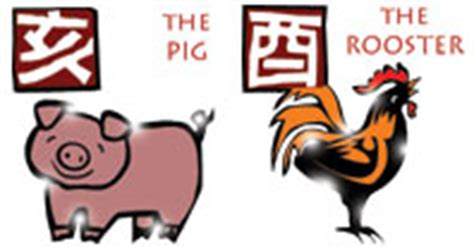 year of the pig and rooster compatibility