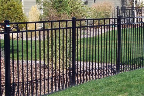 wrought iron vinyl fence 187 fencing
