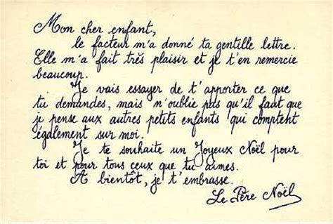 Exemple De Lettre Ecrite Au Pere Noel textes et images empruntees page 10
