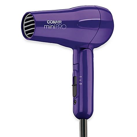 Mini Hair Dryer conair 174 mini pro 174 hair dryer purple bed bath beyond