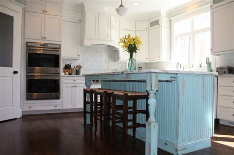 Shabby Chic Kitchen Island Shabby Chic Kitchen Cabinets My Kitchen Interior Mykitcheninterior
