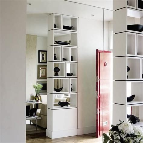 25 Room Dividers With Shelves Improving Open Interior Room Dividers Shelves