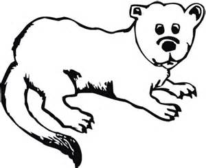 baby otter coloring coloring pages