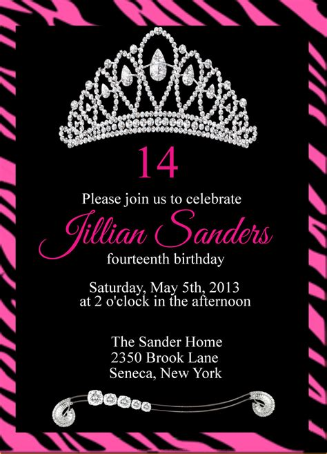 printable princess crown birthday by goosecornergreetings