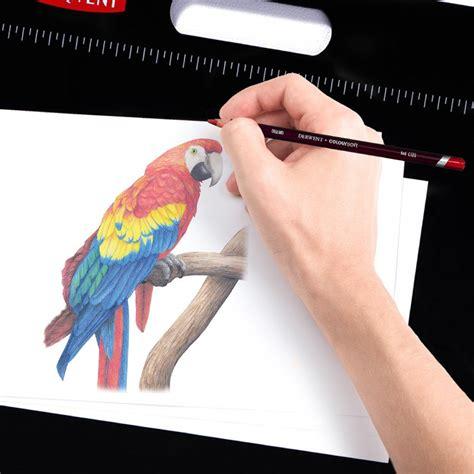 Derwent Colorsoft Coloured Pencil 36 Warna derwent coloursoft wooden box soft blendable colouring