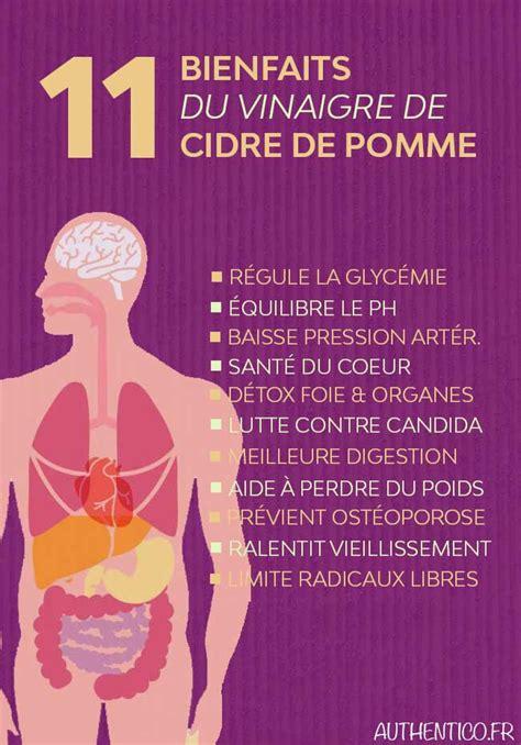 Y A Til Des Bienfaits A La Detox by 11 Bienfaits Insoup 231 Onnables Du Vinaigre De Cidre De Pomme