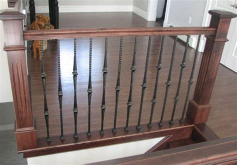 Metal Pickets Wood Stairs Canada Limited