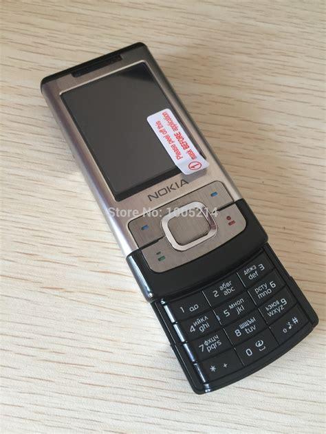 Nokia 6500s Ori 6500s original nokia 6500 slide cell phones 3g bluetooth mp3 player 3 15mp phone cellphone of