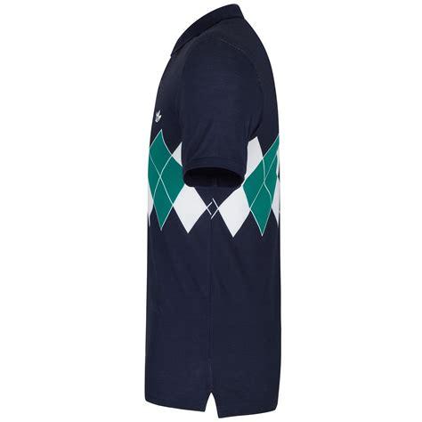 Adidas Italy Grade Ori 10 adidas originals argyle polo shirt retro 80s tennis b grade classic casuals ebay