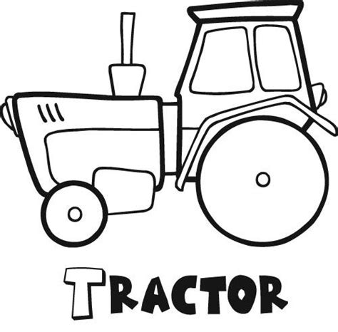easy tractor coloring pages tractor coloring pages coloring lab