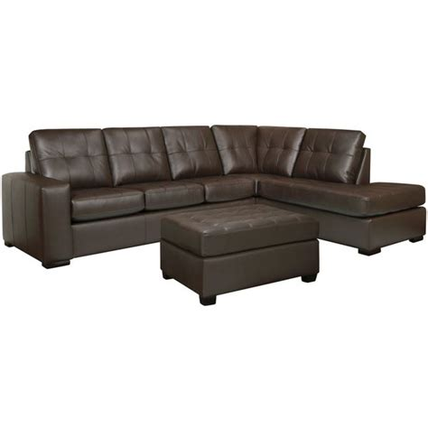 analine leather sofa drake chocolate brown italian leather sectional sofa and