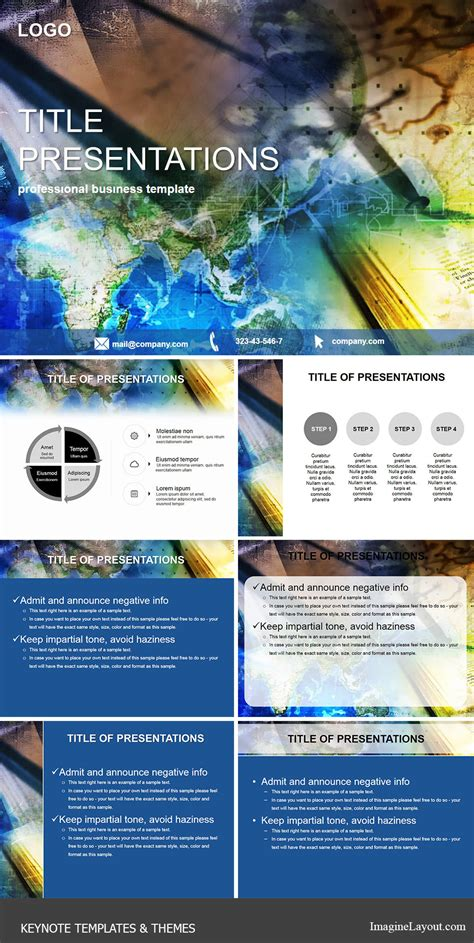 keynote themes academic geographic maps keynote templates themes imaginelayout com