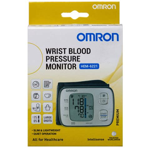 Omron Auto Blood Pressure Monitor by Omron Hem6221 Premium Wrist Blood Pressure Monitor Omron