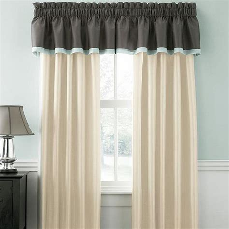 martha stewart window curtains martha stewart chantilly 6 piece drape valance set
