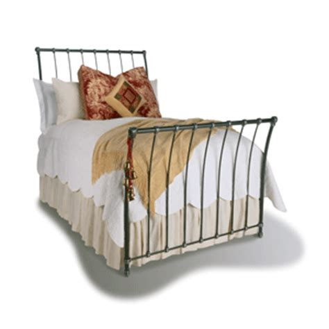 iron sleigh bed winslow iron sleigh bed from classic iron beds designer linens in winter park fl 32789