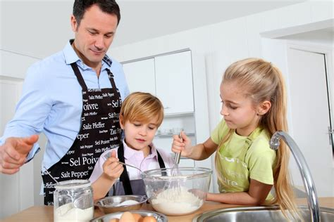 cooking dads demographic information