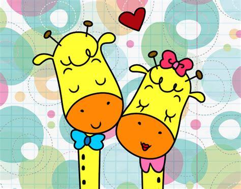 imagenes de jirafas enamoradas jirafitas animadas enamoradas imagui