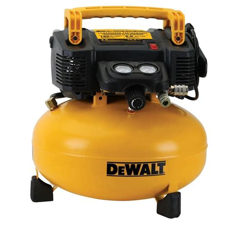 dewalt dewalt 6 gal 165 psi electric pancake air