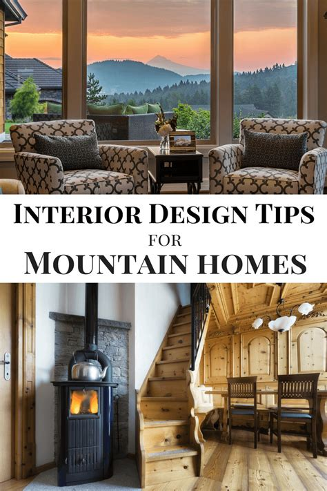 interior design tips for mountain homes