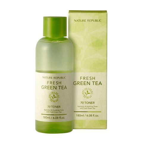 Fresh Green Tea 70 Toner nature republic fresh green tea 70 toner nature republic skin shopping sale koreadepart