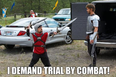 Demand Trial Combat tyrion lannister s trial as told by fan made memes